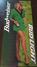 Rare Super Model Rachel Hunter 1994 Vintage Bud Light Beer Poster