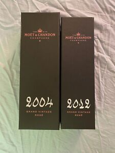 Two Pre Owned Empty Moet Chandon Boxes