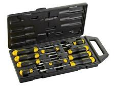 Stanley Cushion Grip Flared/Pozi Magnetic Tip Screwdriver Set of 10 STA265014