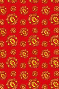 Manchester United Football Official Wrapping Paper Roll