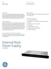 GE External Power Supply ,517EPS1 2 power outputs 13.5V  9A Each. Heavy Duty