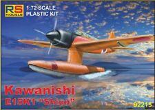 """RS Models 1/72 Kawanishi E15K1 """"Shiun"""" Float Plane # 92215"""