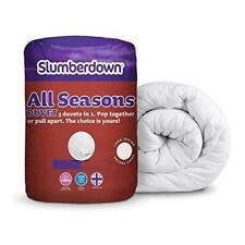 Slumberdown 1157AMZ77 All Seasons 3in1 Combi Duvet - White