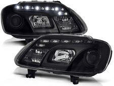 LED FARI ANTERIORI LPVWC4 VW TOURAN 2003 2004 2005 2006 / CADDY NERO