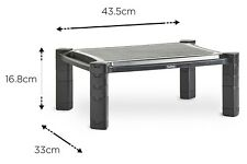 Adjustable Monitor Stand Riser Screen Laptop Printer TV Lift Storage with Drawer