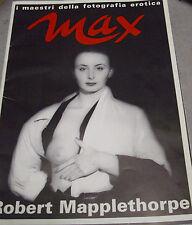 MAX i maestri della fotografia erotica ROBERT MAPPLETHORPE Monographie kt. ~1990