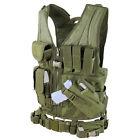 CONDOR OD Green LE CVXL X-Draw MOLLE Tactical Rig Vest Magazine Gun Pouch XL/XXL
