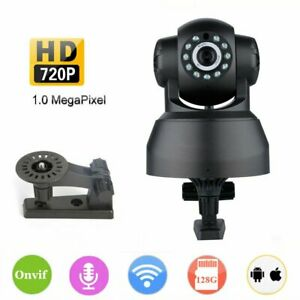 720p Wireless WiFi IP Security Camera Home Indoor Baby Pet Monitor Night Vision