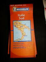 Carte michelin orange 564 italie sud 2010