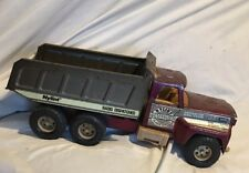 Nylint 871 Steel 6 Wheel Dump Truck # 37 24 Hour Radio Dispatched *FREE SHIPPING