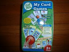 Leap Frog My Card Games Alphabet Go Fish & Math Rummy