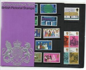 GB 1970 Collectors Stamps Presentation Year Pack VGC British Pictorial