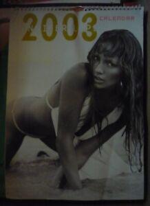 Jennifer Lopez J-Lo Calendar 2003 UK Version
