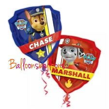 """Paw Patrol 27"""" Foil Balloon Helium Party Birthday Decoration Chase Marshal"""