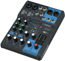 Yamaha Mg06X Live Sound Stereo Mixer With Spx Effects, 2 Mic Inputs and 2 Stereo
