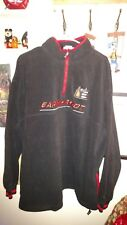 Dale Earnhardt Fleece Jacket Chase Authentic size 2 XL Black /Red 1/4 zipper