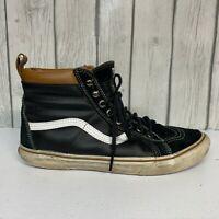 Vans Sk8-Hi Pro 721454 Skateboarding/Casual Black Shoes Men's Size 9.5