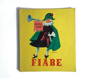 """Libro illustrato vintage """"Fiabe dei Fratelli Grimm"""" Anni '60"""
