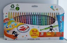 Paper Mate Felt-Tip Colouring Pens Not Inkjoy 18+6 Free Ideal For Adults or Kids