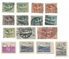 Germany Reich Lot Upper Silesia 1920 used/German Occupied Estonia 1941