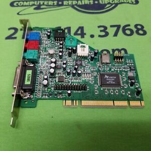 VINTAGE Dell Turtle Beach ASC338 TB400-3355-01 Dell 07005 PCI Sound Card