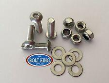 M6 x 20mm Button head socket screw 304 stainless steel kit (QTY- 25 bolts)