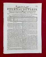Banque 1789 Tournon sur Rhône Embrun Necker Talleyrand Révolution Française