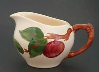 """Franciscan Apple Creamer England Hand Painted 3 1/2"""" Tall"""