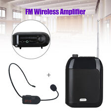 Portable Rechargeable T9 Voice Amplifier USB/TF/U Disk+FM Receiver for Training