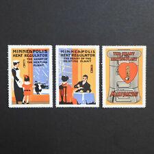 Poster Tampon * USA * Mint Set 1915 Minneapolis Publicité de Cendrillon