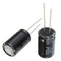 50pcs 35V 1000uF Electrolytic Capacitor Low Esr 13 x 0 25/32in