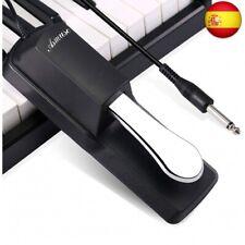 Asmuse Pedal Piano Sustain Teclado para e Piano Digital Yamaha Casio y