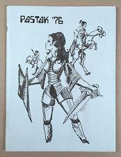 PASTAK '76 #3 Fanzine Anthology Star Trek TOS GEN Oct 1976 First Printing
