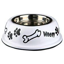 Comederos y bebederos de acero inoxidable de talla única para perros