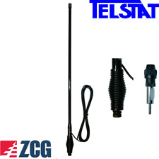 ZCG SG1100BLKR All-black AM/FM radio receive spring base 90cm Heavy Duty Antenna