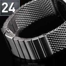 Bracelet en Acier Inoxydable Bracelet Montre Bande 24 mm pour BREITLING/Brossé