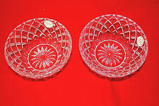 1-Set of 2 / Lenox Collections Crystal Diamond 5.0 Bowls Czech 092204 (#S5915)