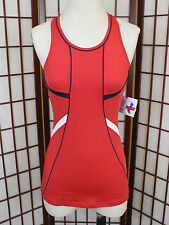 Bolle Girls Forever Young Tennis Dress Sz Medium Red White Blue Athlete