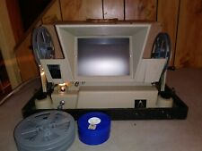 Vintage Tower Automatic 8mm wide screen Projector editor & viewer Works Sears