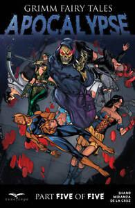 GRIMM FAIRY TALES GFT Zenescope Apocalypse Issue #5 Cover B Salvatore Cuffari