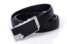 Women Belt Real Cow Genuine Leather Septwolves Auto Lock Ladies black 327113300