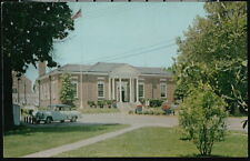 CHESTERTOWN MD US Post Office Vintage 1950's Car Old Maryland Postcard PC
