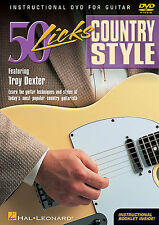 50 Licks Country Style Guitar Troy Dexter Tuition DVD