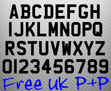 Stick on Trailer registration number plate 7 DIGITS free P+P