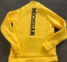Michigan football Pullover Jacket New Nwt $160.00 Sz Large L Wolverines nike