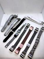 Fitbit Alta straps, 9 in total.