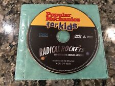 Popular Mechanics For Kids Radical Rockets And Other Cool Cruising Machines Dvd!