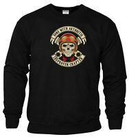 Sons With Arthritis Sweatshirt Motorbike Club MC Skull Pistons SOA Gift Men Top