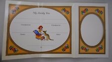 2003 Baby Information Card only EX BABY PROOF COIN SET