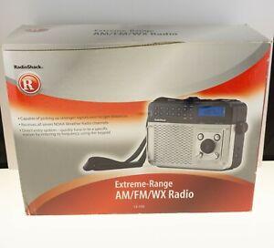 Radio Shack EXTREME RANGE AM/FM/WX Radio 12-150 In Original Box Excellent Cond